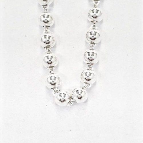 Kugelkette Silber