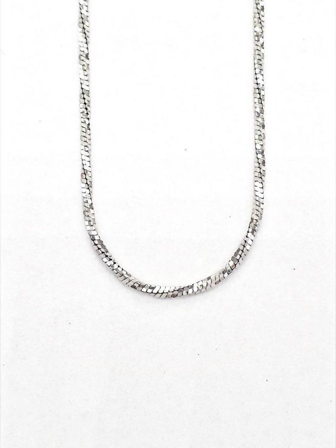 Dünne Silberkette