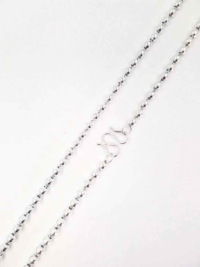 Silber Halsketten-Design 72 1
