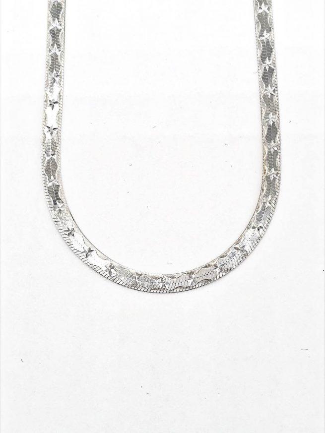 Schöne Silberketten