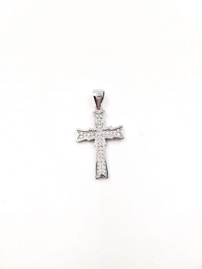 Silber Kreuz Anhänger 1