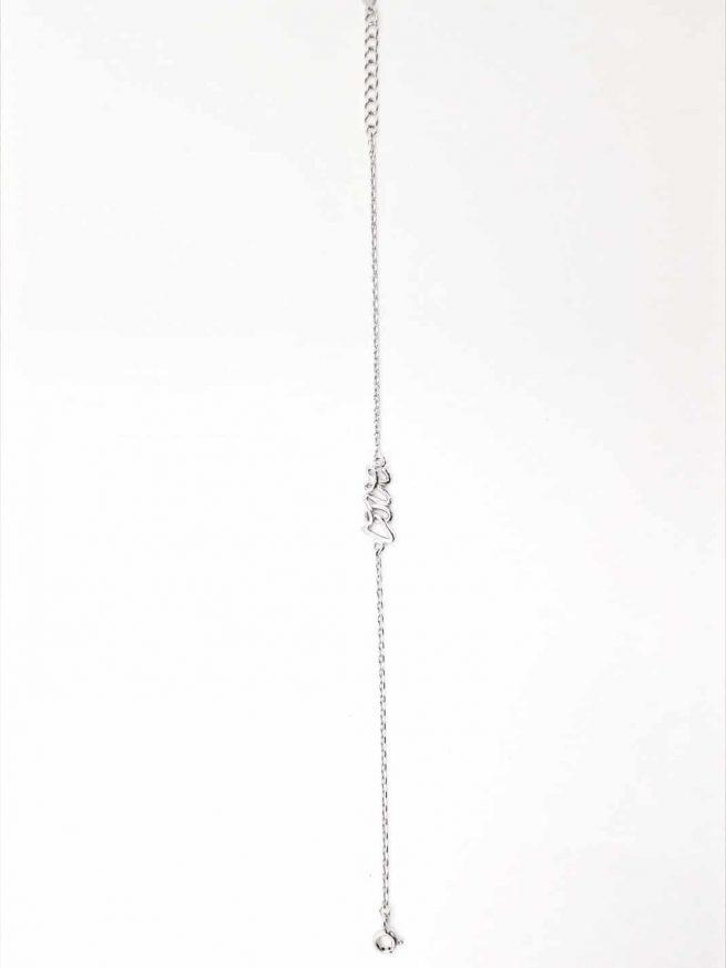 Love Silber Armband ll 4