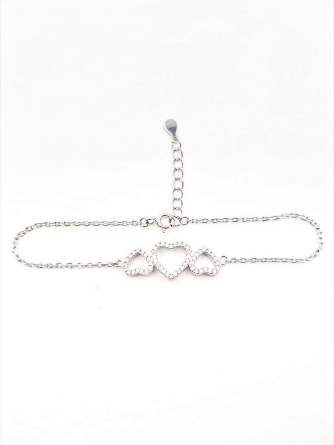 Love in Love Silber Armband 4