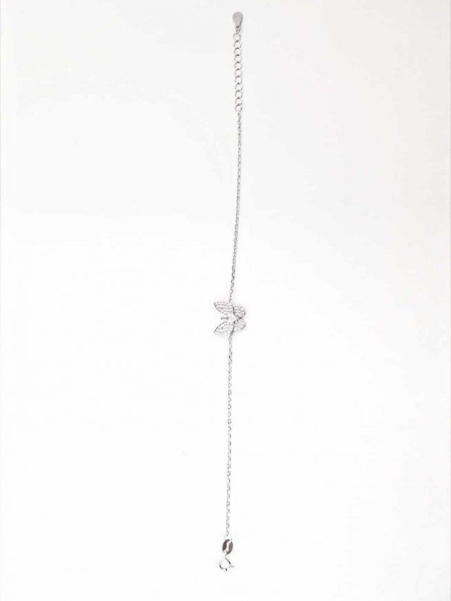 Schmetterlinge Silber Armband 4