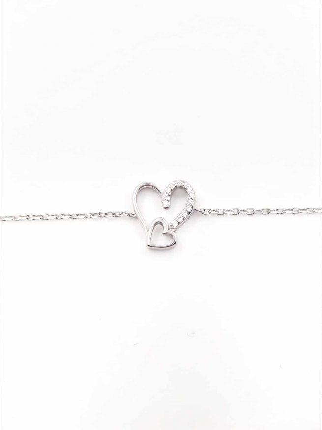 Love & Love Silber Armband 1