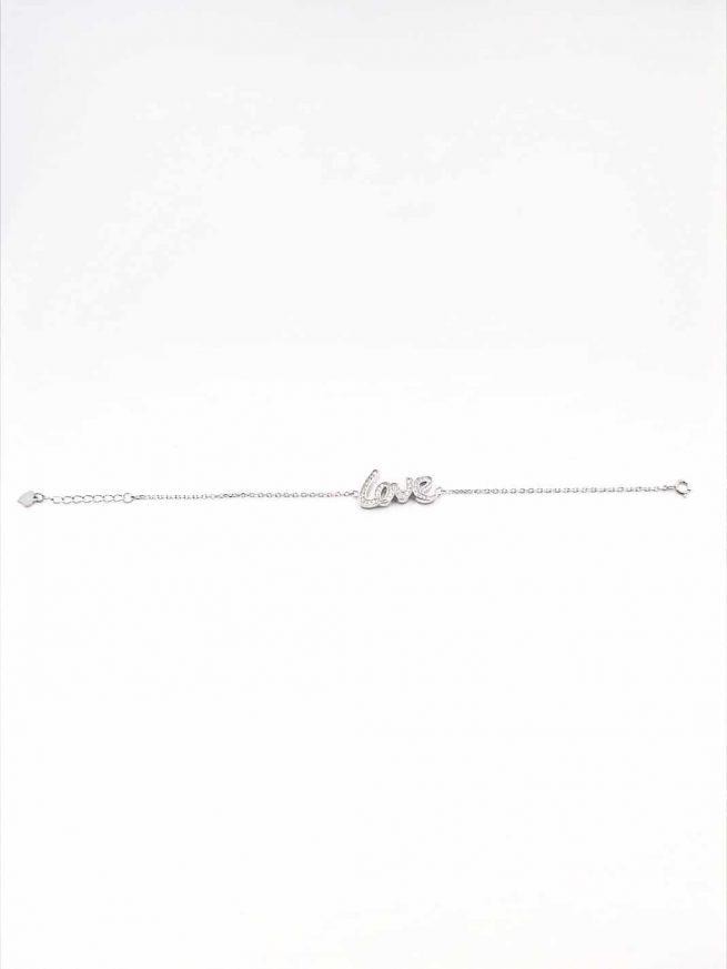Love Silber Armband 3
