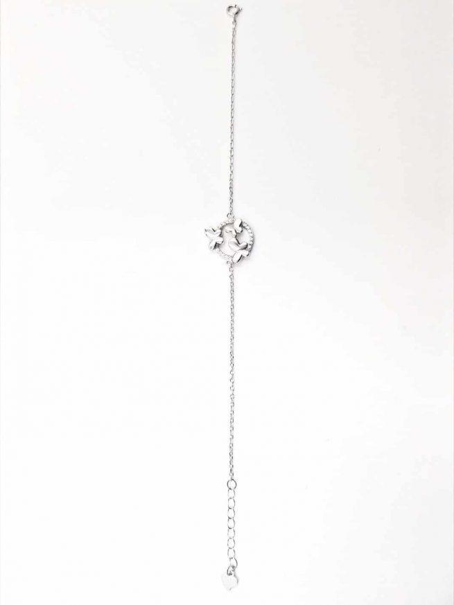 Schmetterlinge Silber Armband lll 4