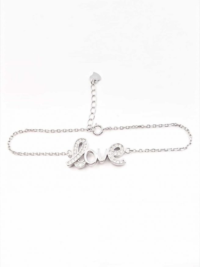 Love Silber Armband ll 2