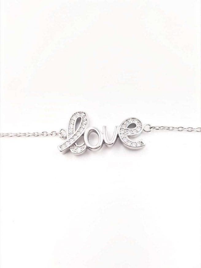 Love Silber Armband ll 1