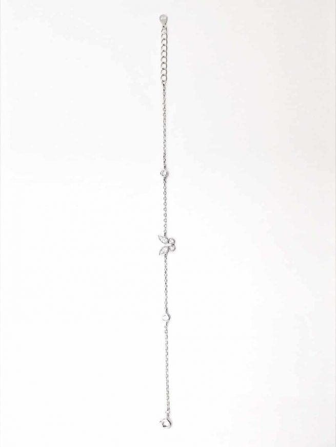 Schmetterlinge Silber Armband II 4