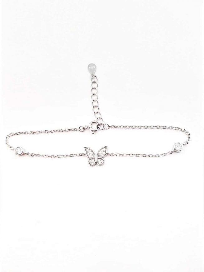 Schmetterlinge Silber Armband II 2