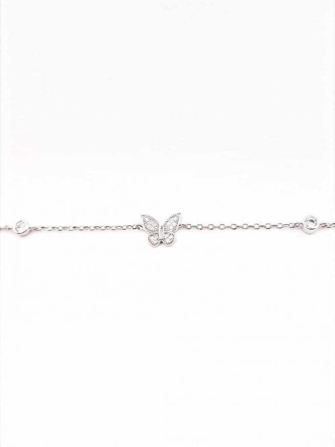 Schmetterlinge Silber Armband II 1