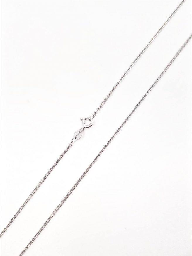 Damen und Herren Halsketten - Silber Halsketten - Fine II 1