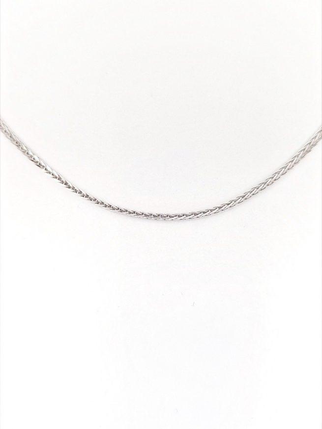 Damen und Herren Halsketten - Silber Halsketten - Fine II 2