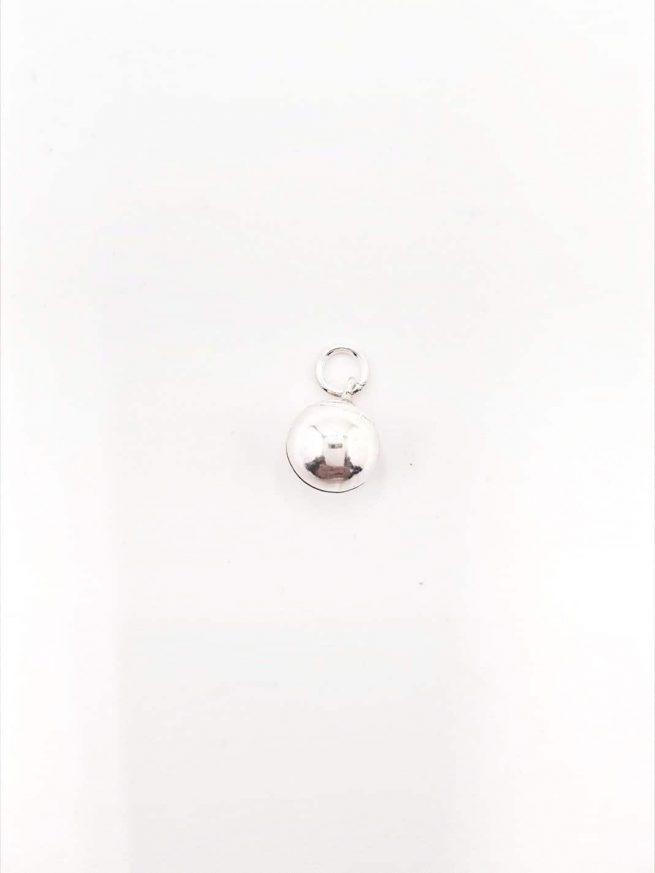 Glocke Silber Anhänger 1