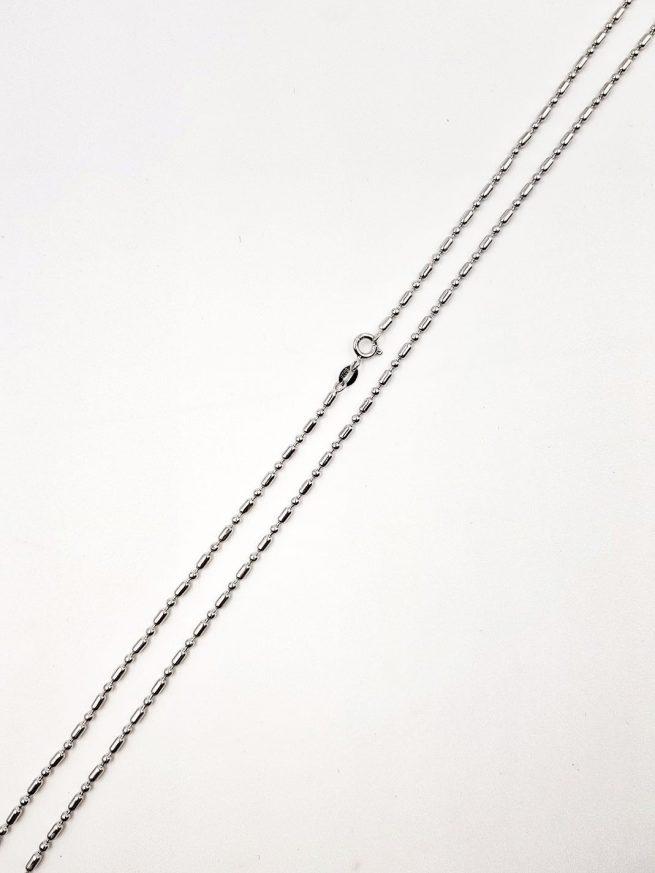 Silber Halsketten-Design 36 1