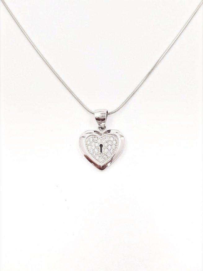 Herz ll Silber Anhänger 2