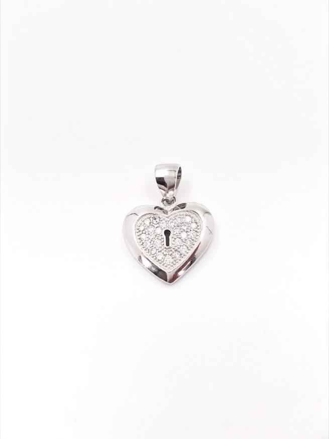 Herz ll Silber Anhänger 1