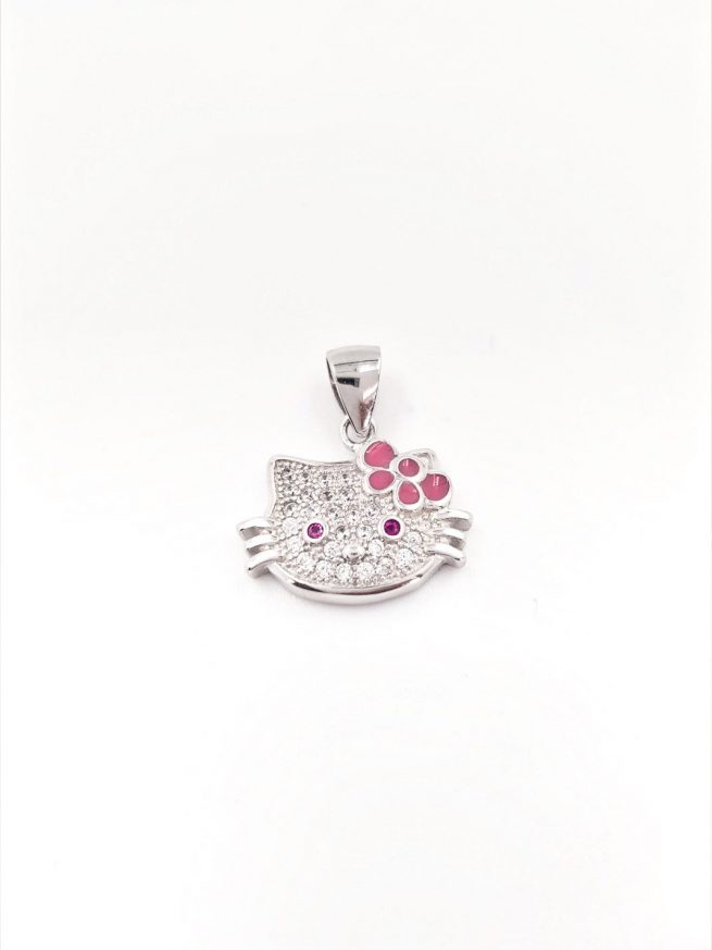 Hello Kitty Silber Anhänger 1