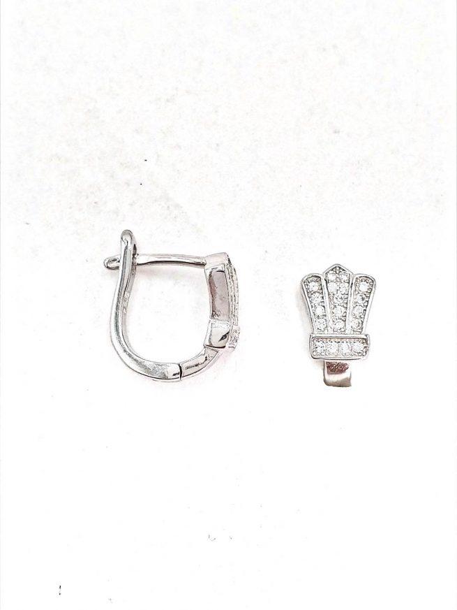 Königin Silber Ohrringe 2