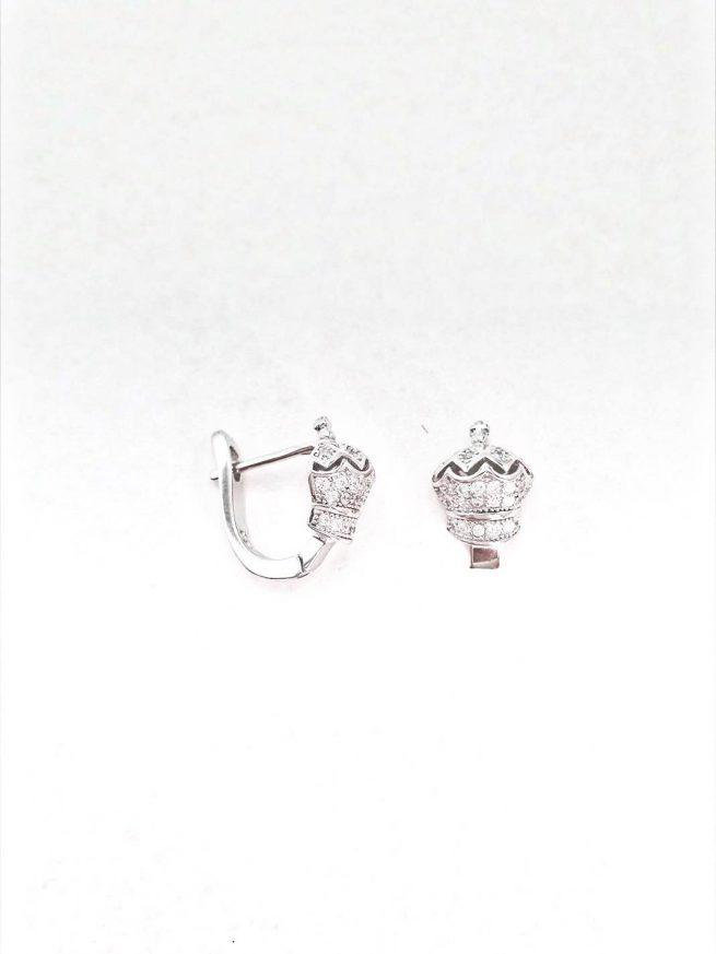 Königin Silber Ohrringe II 2