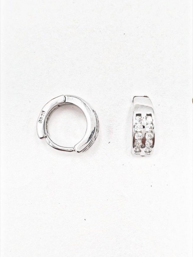 Silber Ohrringe Design 7 2