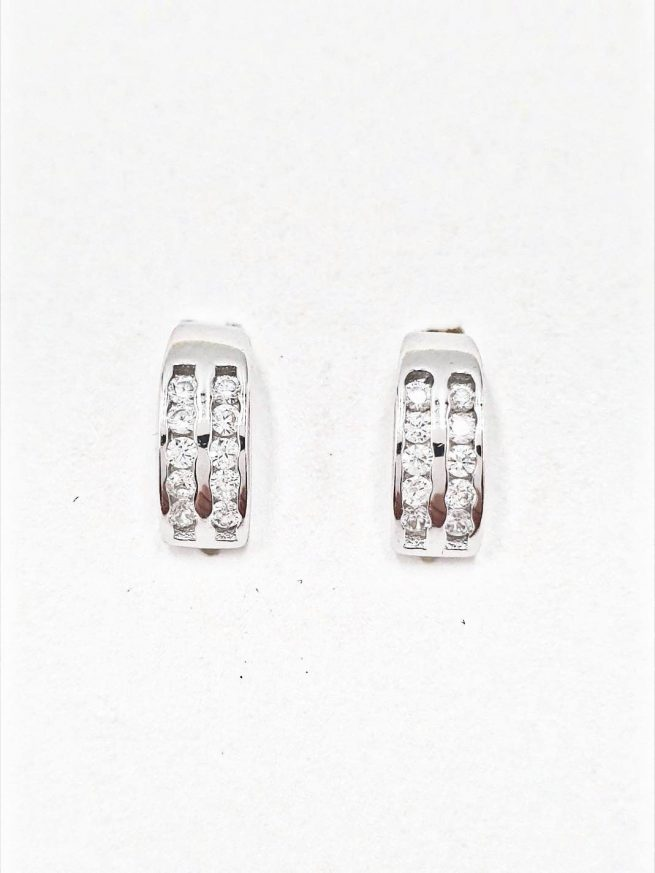 Silber Ohrringe Design 7 1
