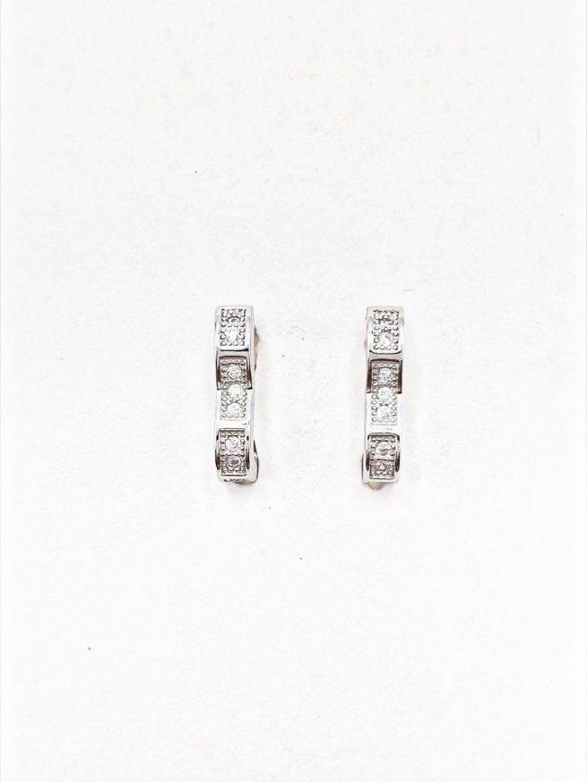 Love Silber Ohrringe 1