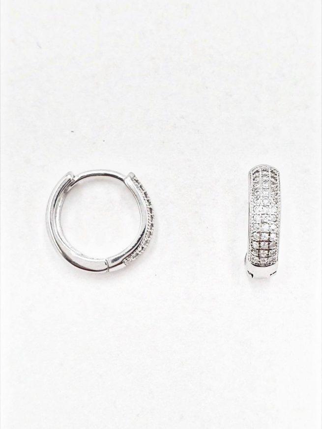 Silber Ohrringe Design 3 2