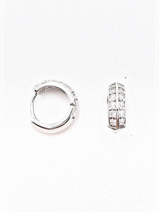 Silber Ohrringe Design 77 2