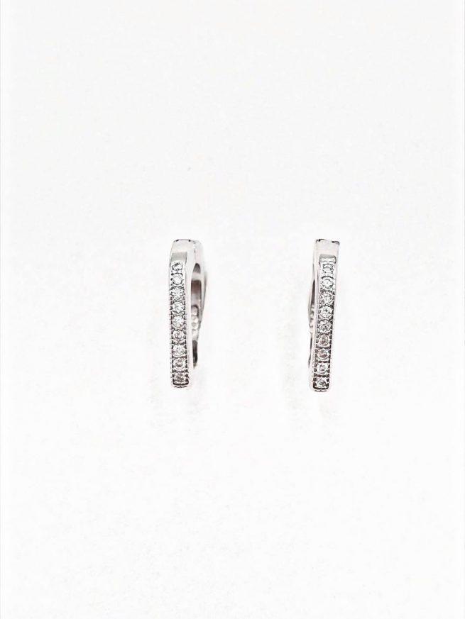 Silber Ohrringe Design 22 1