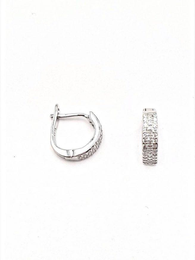 Silber Ohrringe Design 33 2