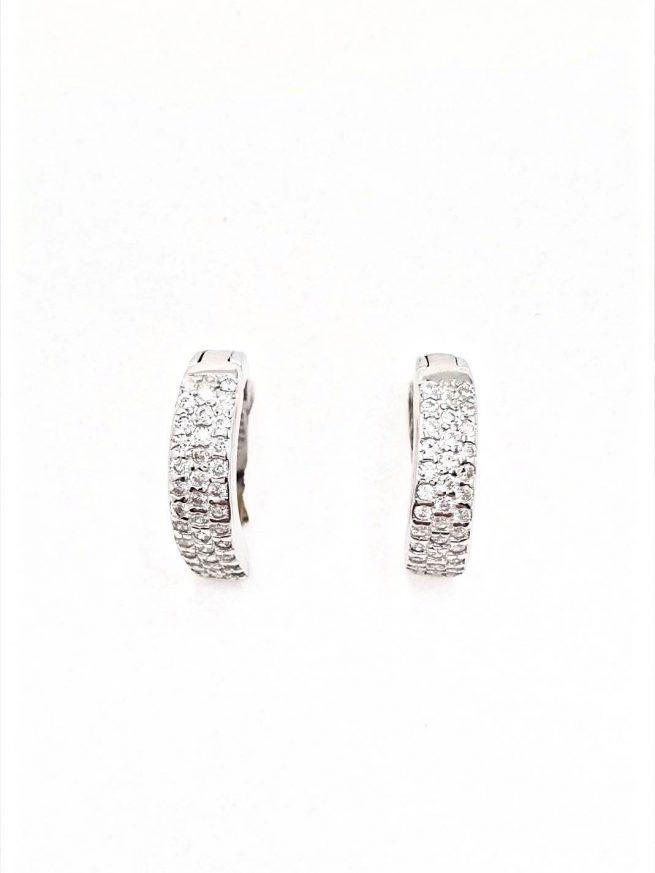 Silber Ohrringe Design 33 1