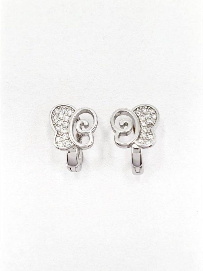 Schmetterlinge Silber Set | Ring+ Ohrringe+Anhänger 1