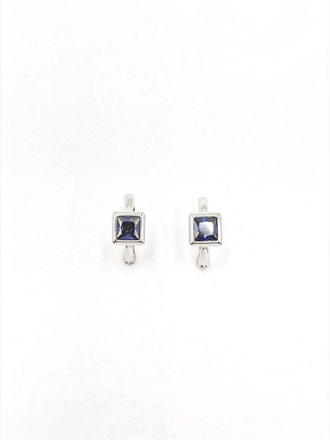 Blue Silber Set | Ring+Ohringe+ Kette mit Anhänger 2