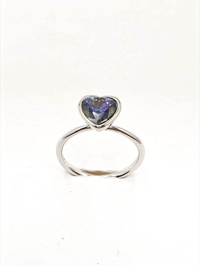 Love Silber Set | Ring+Ohrringe+ Halsette mit Anhänger 3