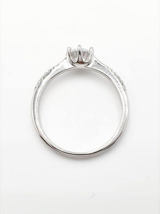 Kristall Silber Ring 3