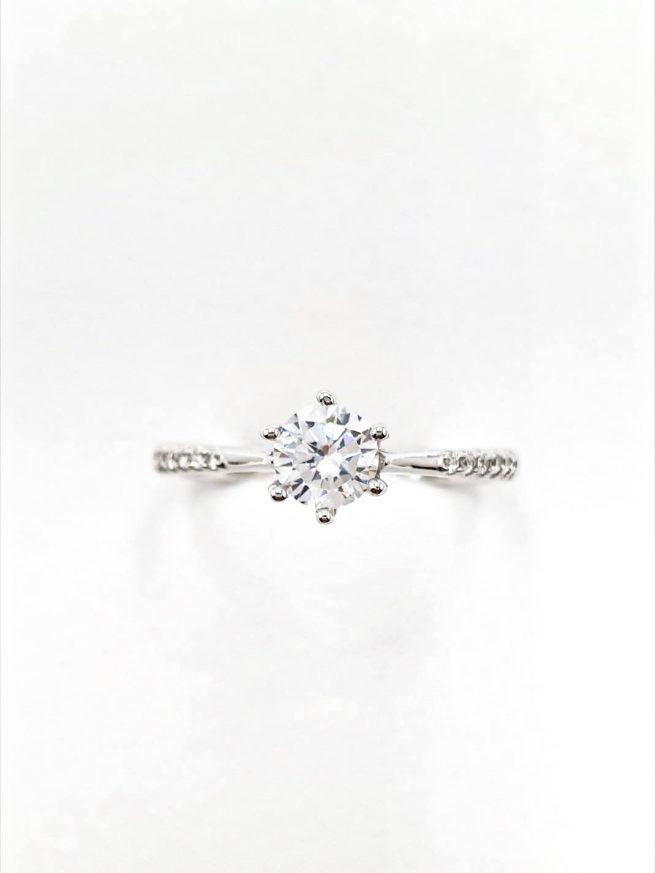Kristall Silber Ring 2