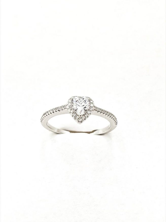 Love II Silber Ring 2