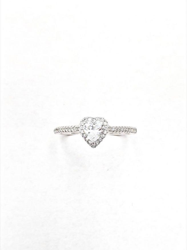 Love II Silber Ring 1