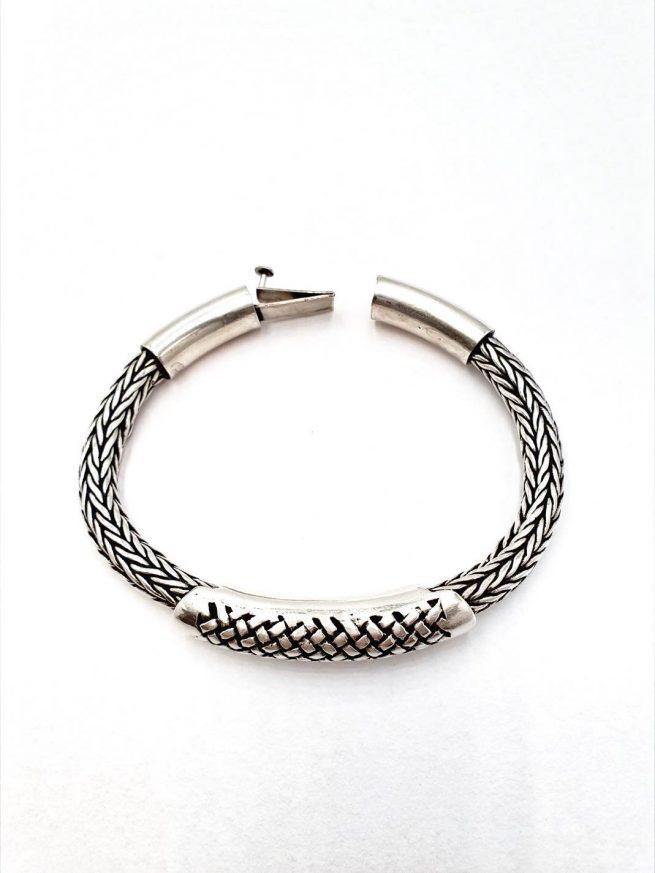 Mächtige Silver Königsketten-Armband 1