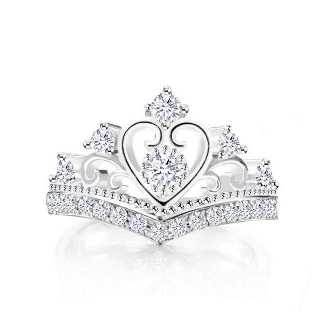 Modischer Krone Ring 1