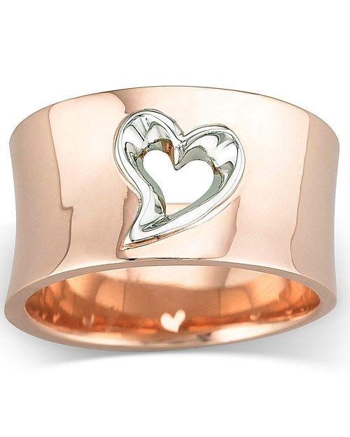 Modischer Herz Ring 1