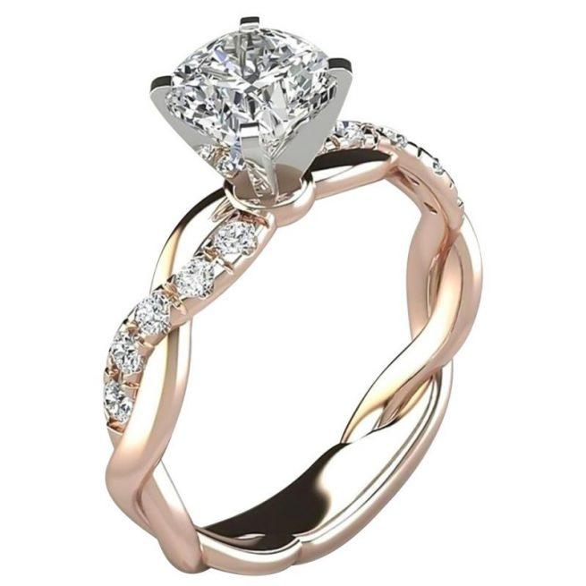 Modischer Diamant Ring 1