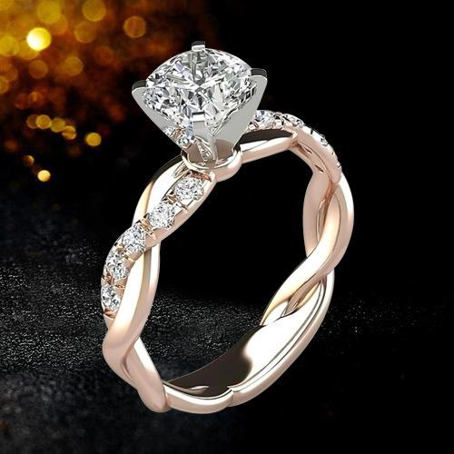 Modischer Diamant Ring 2
