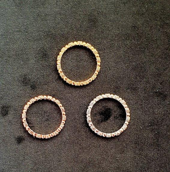 Modischer Ring | 3 Teilig 3