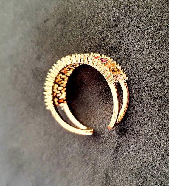 Modischer Ring | Offener Ring 3