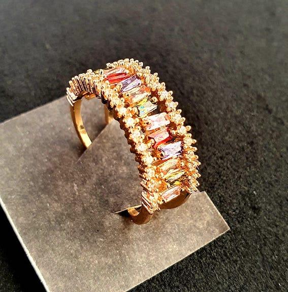 Modischer Ring | Offener Ring 4