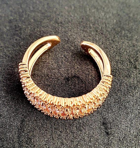 Modischer Ring | Offener Ring 5