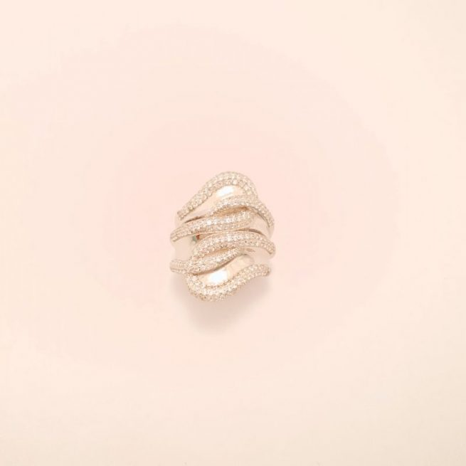 Silber Ring Layla 2